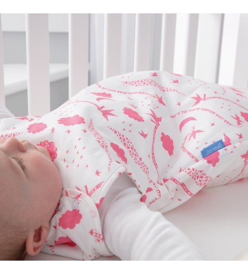 Sac de dormit cu sistem de infasare dimineata de primavara Rob Ryan confortabil 0-3 luni Gro