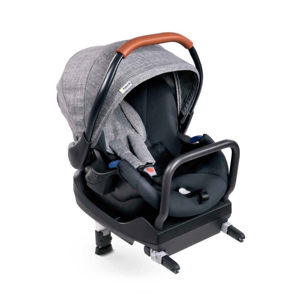 Set scaun auto si baza Comfort Fix Melange Grey