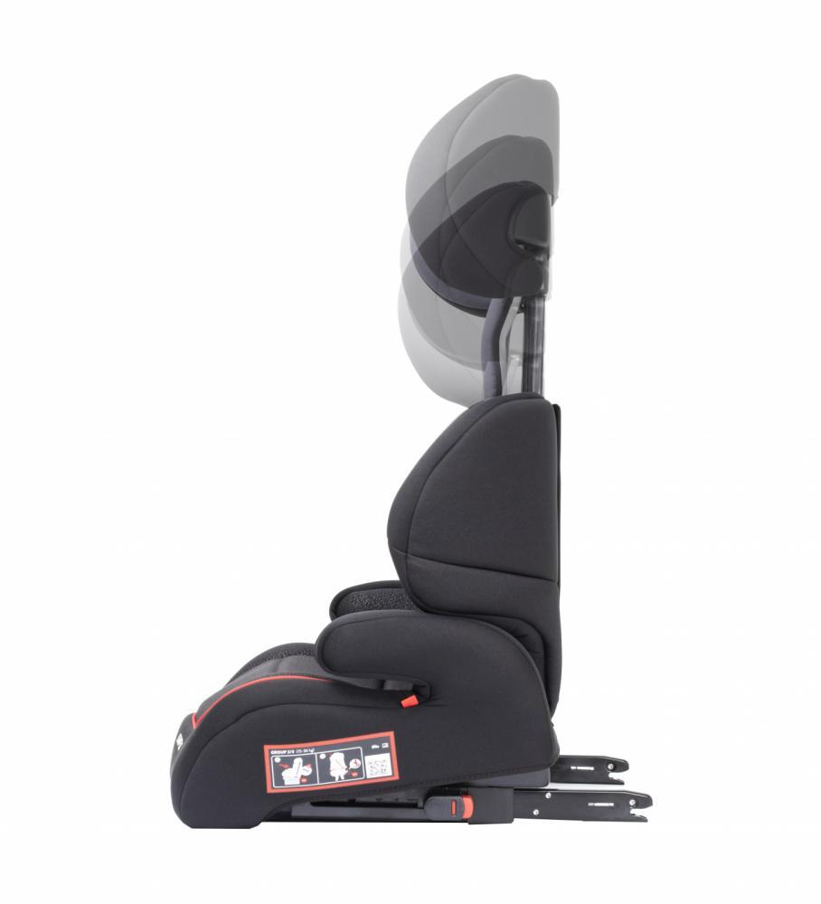Scaun auto Babyauto Jan fix plus isofix 15-36 kg negru-gri