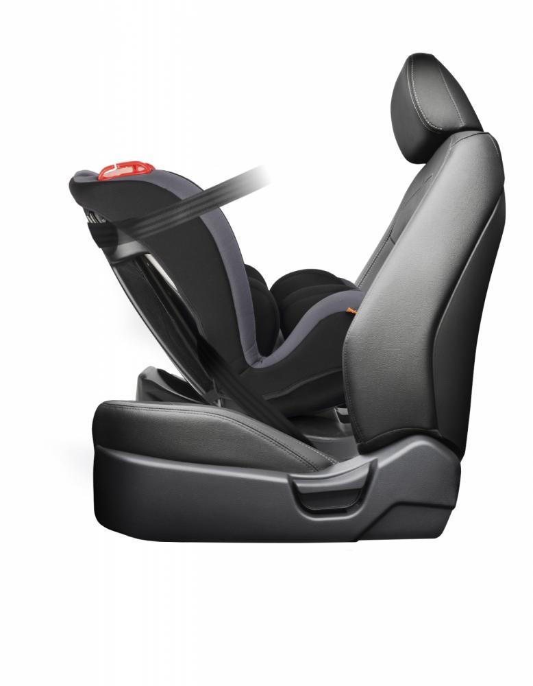 Scaun auto Babyauto Kypa reversibil 0-25 kg gri-negru