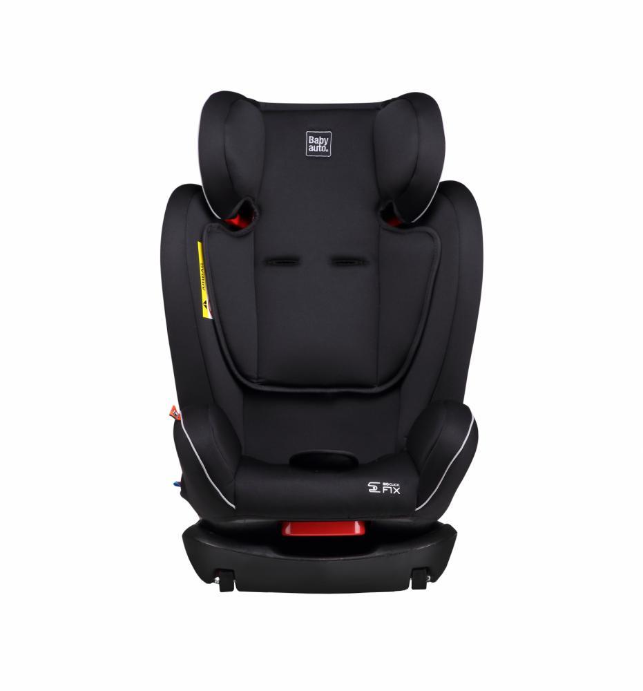 Scaun auto Babyauto Noe fix dual isofix 0-36 kg negru-gri