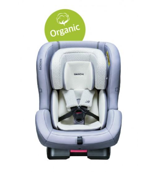 Scaun auto First 7 Plus Organic Grey Belt Daiichi