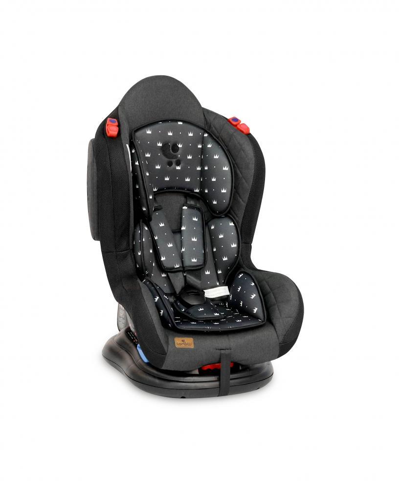 Scaun auto Jupiter 0-25 kg Black Crowns imagine