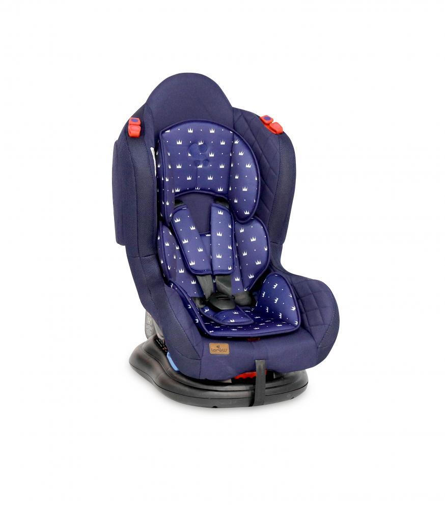 Scaun auto Jupiter 0-25 kg Dark Blue Crowns imagine