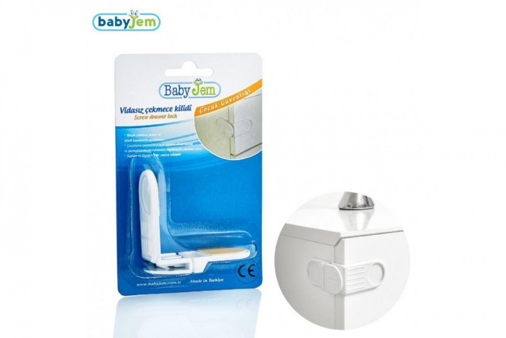 Siguranta pentru sertare BabyJem White imagine
