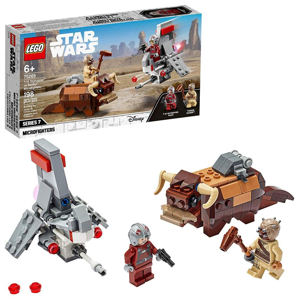 Skyhopper contra Bantha Microfighters Lego T-16 Star Wars
