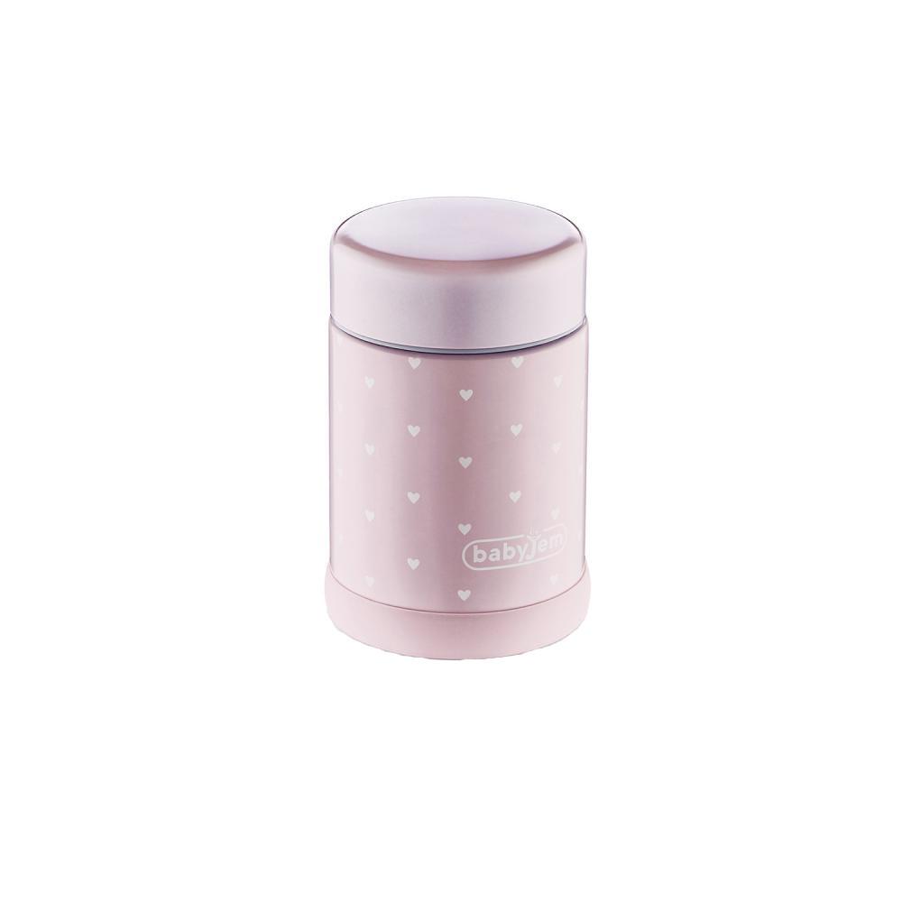 Termos pentru mancare solida BabyJem Lunch Box Pink din categoria Alimentatie de la BabyJem
