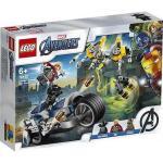 Atacul Razbunatorilor cu motociclete Lego