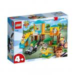 Aventura lui Buzz si Bo Peep pe terenul de joaca Lego