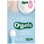Cereale Bio din orez integral cu adaos de vitamina B1 +6 luni 100 g Organix