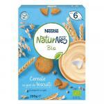 Cereale Nestle NaturNes Bio Cereale cu gust de biscuiti 200g de la 6 luni