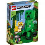 Creeper BigFig si Ocelot Lego