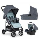 Carucior 3 in 1 Rapid 4 Plus Trioset Grey Mint