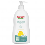 Detergent lichid de vase cu ulei organic de lamie 500 ml, Friendly Organic
