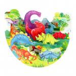 Felicitare 3D PopnRock Dinozauri