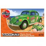 Kit constructie Airfix Quick Build Masina Flower Power