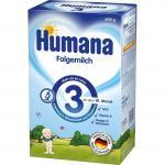 Lapte de continuare Humana 3 GOS  600 g, 10 luni+
