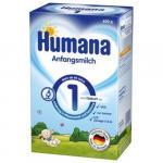 Lapte praf Humana 1 GOS, 600g de la nastere