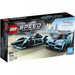 Formula E Panasonic Jaguar Racing gen2 car si Jaguar I-Pace eTrophy Lego