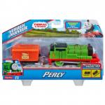 Locomotiva trenulet motorizat Percy cu vagon posta Thomas Friends TrackMaster