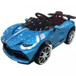 Masinuta electrica cu suspensii si Slow Start Super Car Blue