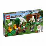 Minecraft Pillager Outpost Lego