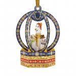 Ornament de brad Craciun Santoro Baubles Om de zapada