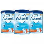 Pachet 3 x Lapte praf Nutricia Aptamil Junior 1+ 800 g 12-24 luni