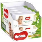 Servetele umede Huggies Natural Care Extra Care 8 pachete x 56 ,168 buc