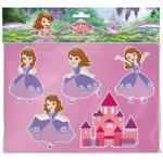 Set sabloane desen Printesa Sofia Lena pentru copii
