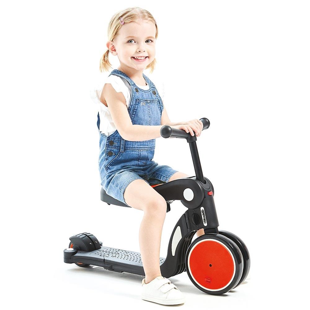 Bicicleta tricicleta si trotineta Chipolino All Ride 4 in 1 red imagine