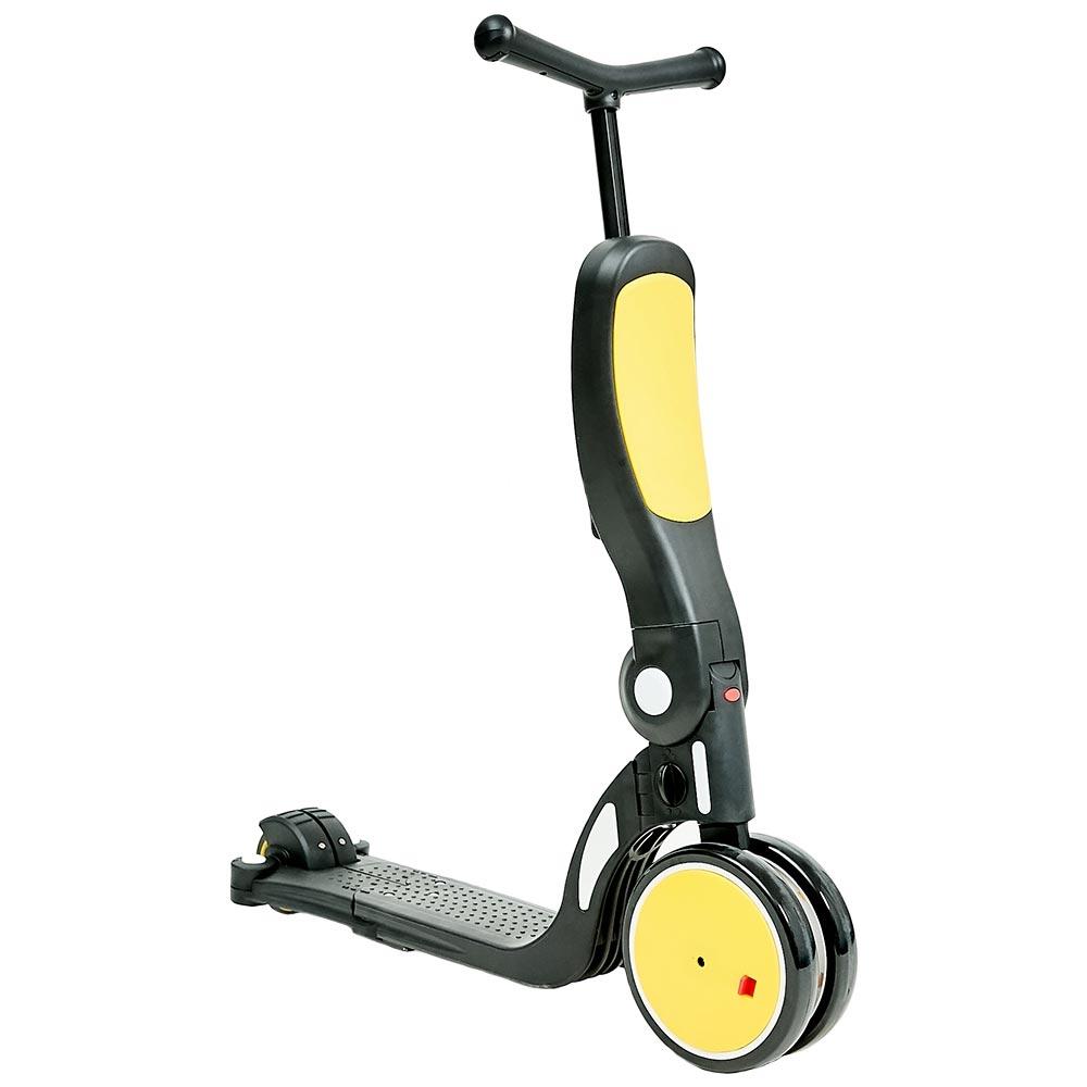 CHIPOLINO Bicicleta tricicleta si trotineta Chipolino All Ride 4 in 1 yellow