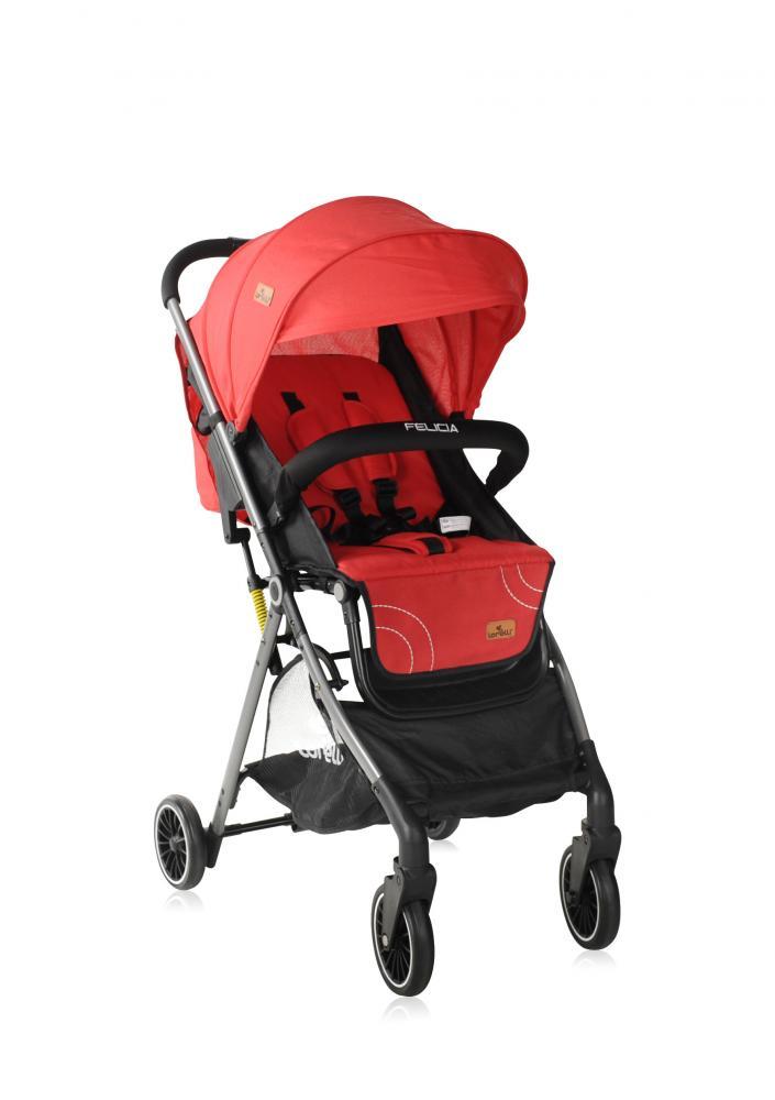 LORELLI Carucior pentru nou-nascut Felicia Red