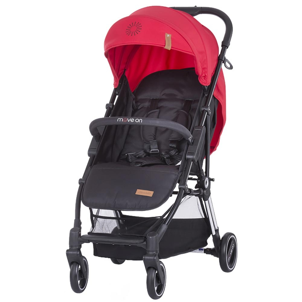 CHIPOLINO Carucior sport Chipolino Move On red