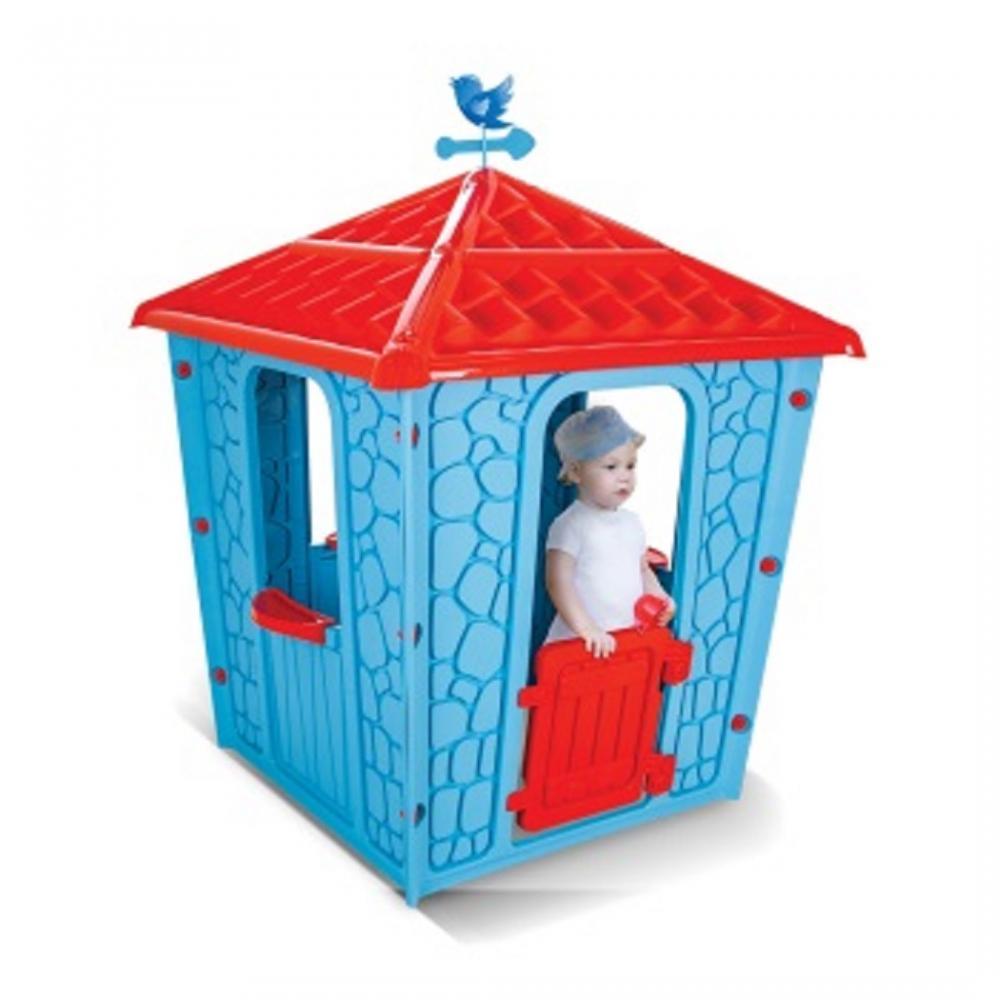 Casuta pentru copii Stone House Blue imagine