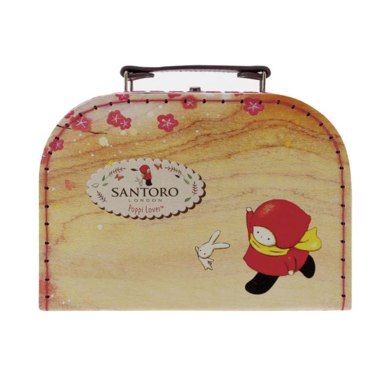 Cutie depozitare tip valiza mica Poppi Loves Sakura