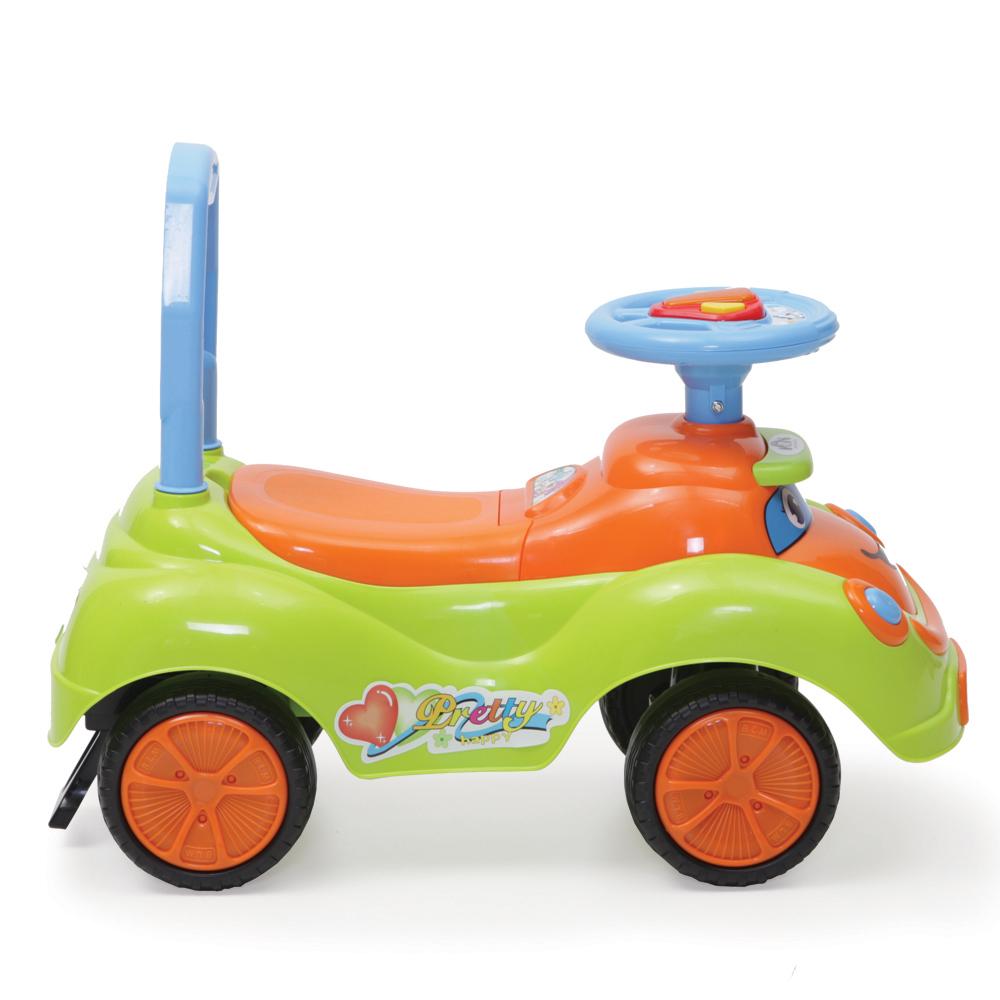 Masinuta fara pedale pentru fetite Pretty Green imagine
