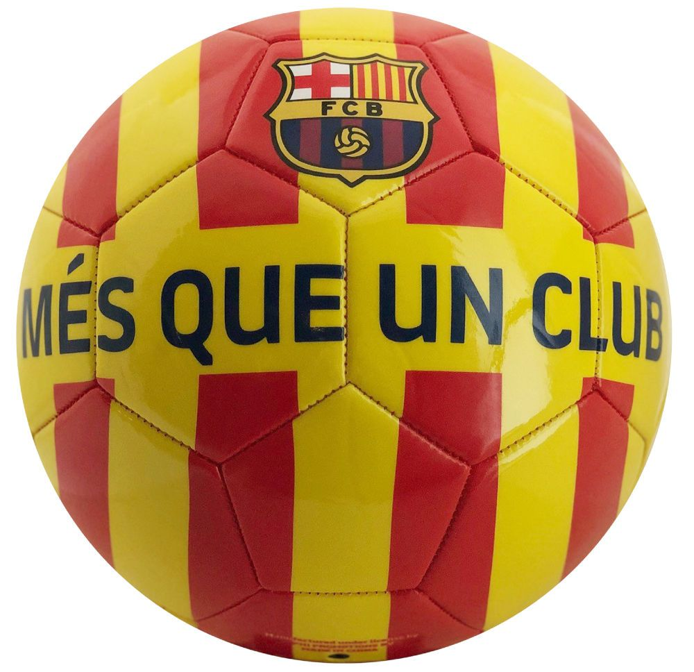Minge FC Barcelona Catalunya Yellow Red Stripes marimea 5