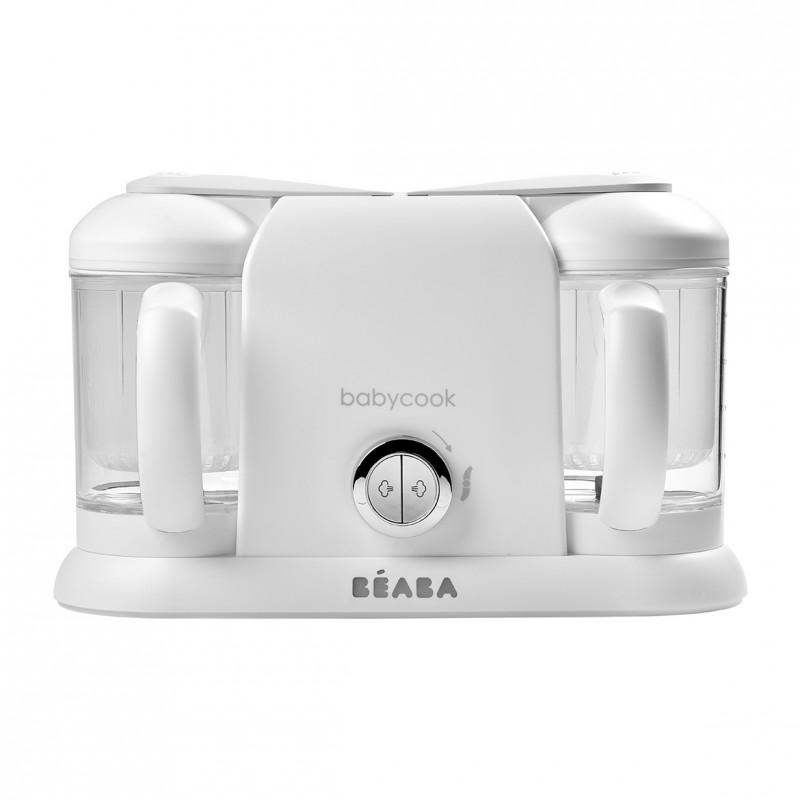 BEABA Robot Babycook Plus White Silver