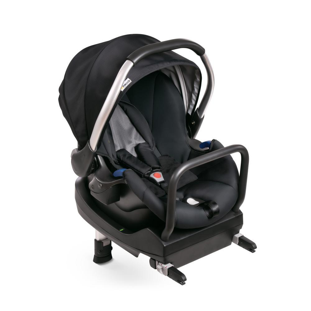Set scaun auto si baza Comfort Fix Black Grey