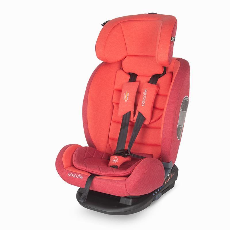 Scaun auto cu isofix grupa 0-36 kg Coccolle Sedna Aurora Red