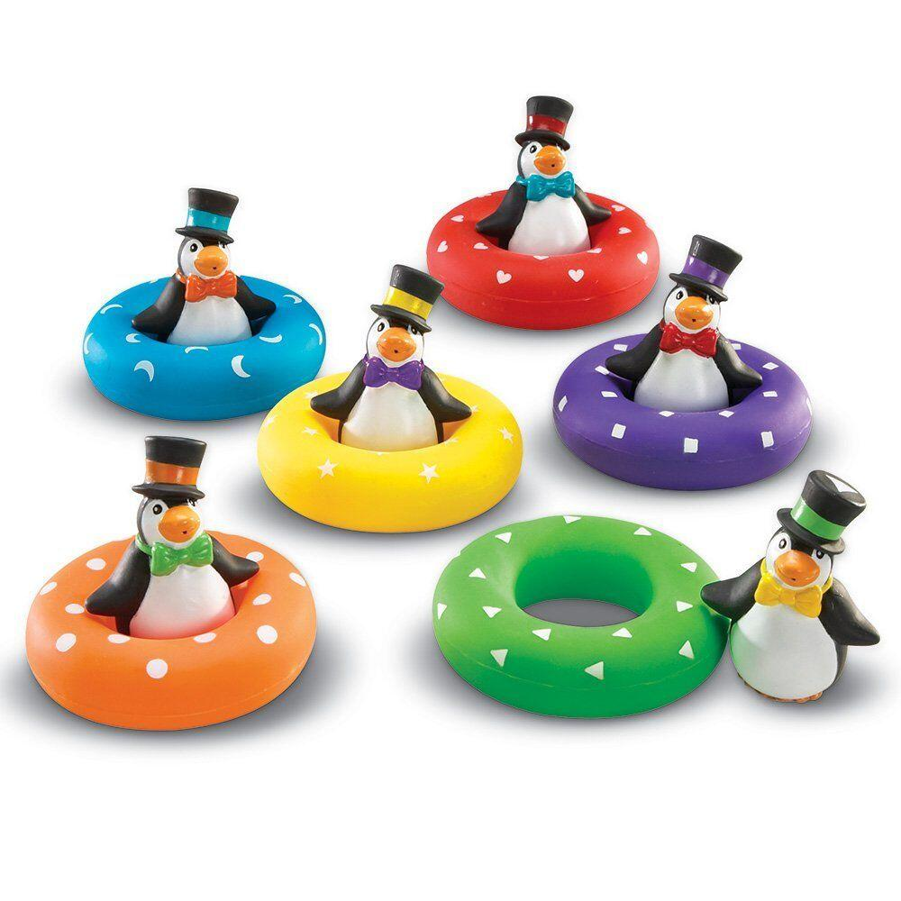 Joc de potrivire pinguinii colorati