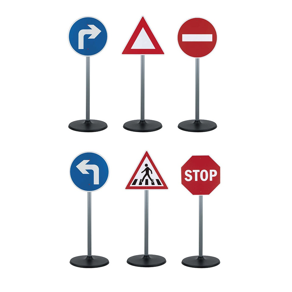 Set 3 semne circulatie Road Sign