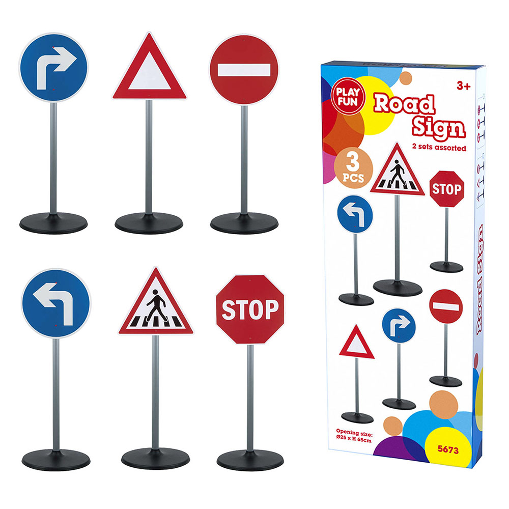 Set semne circulatie Road Sign