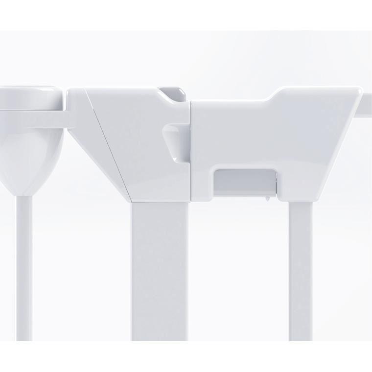Tarc de siguranta modular cu 3 panour, metal alb Noma N94054