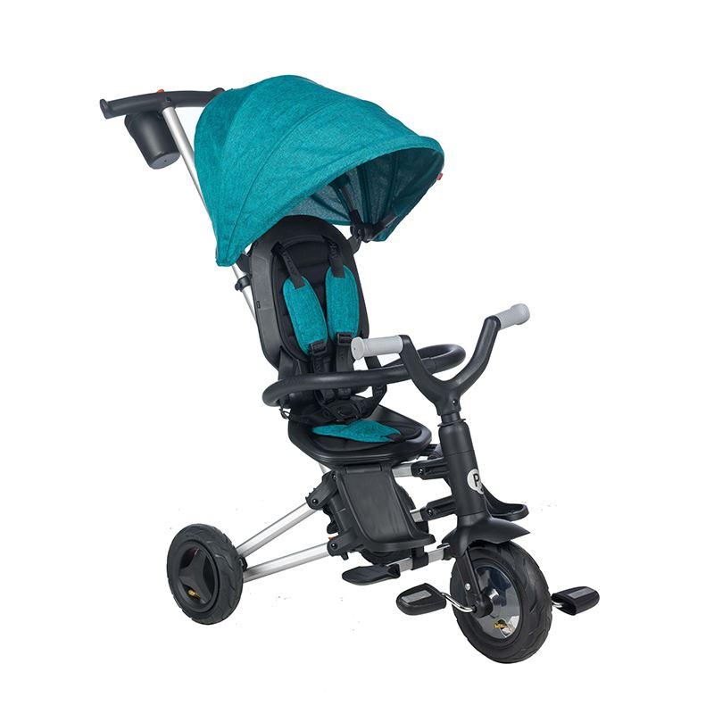 Tricicleta Ultrapliabila Qplay Nova Air Green Blue