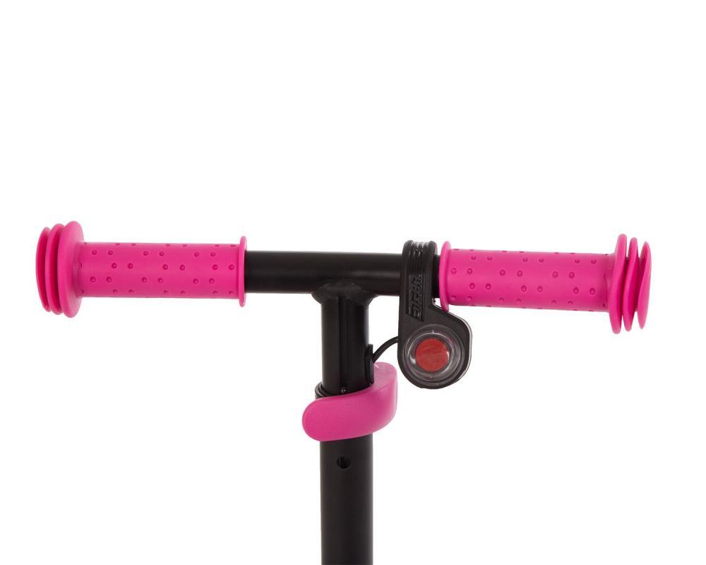 Trotineta KikkaBoo electrica cu lumini Fury Pink imagine