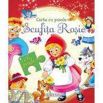 Carte cu puzzle Scufita rosie
