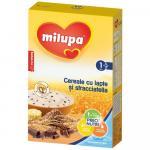 Cereale Milupa cu lapte si stracciatella 250 g de la 1 an
