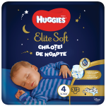 Chilotei de noapte Elite Soft nr.4, 9-14 kg 19 buc Huggies